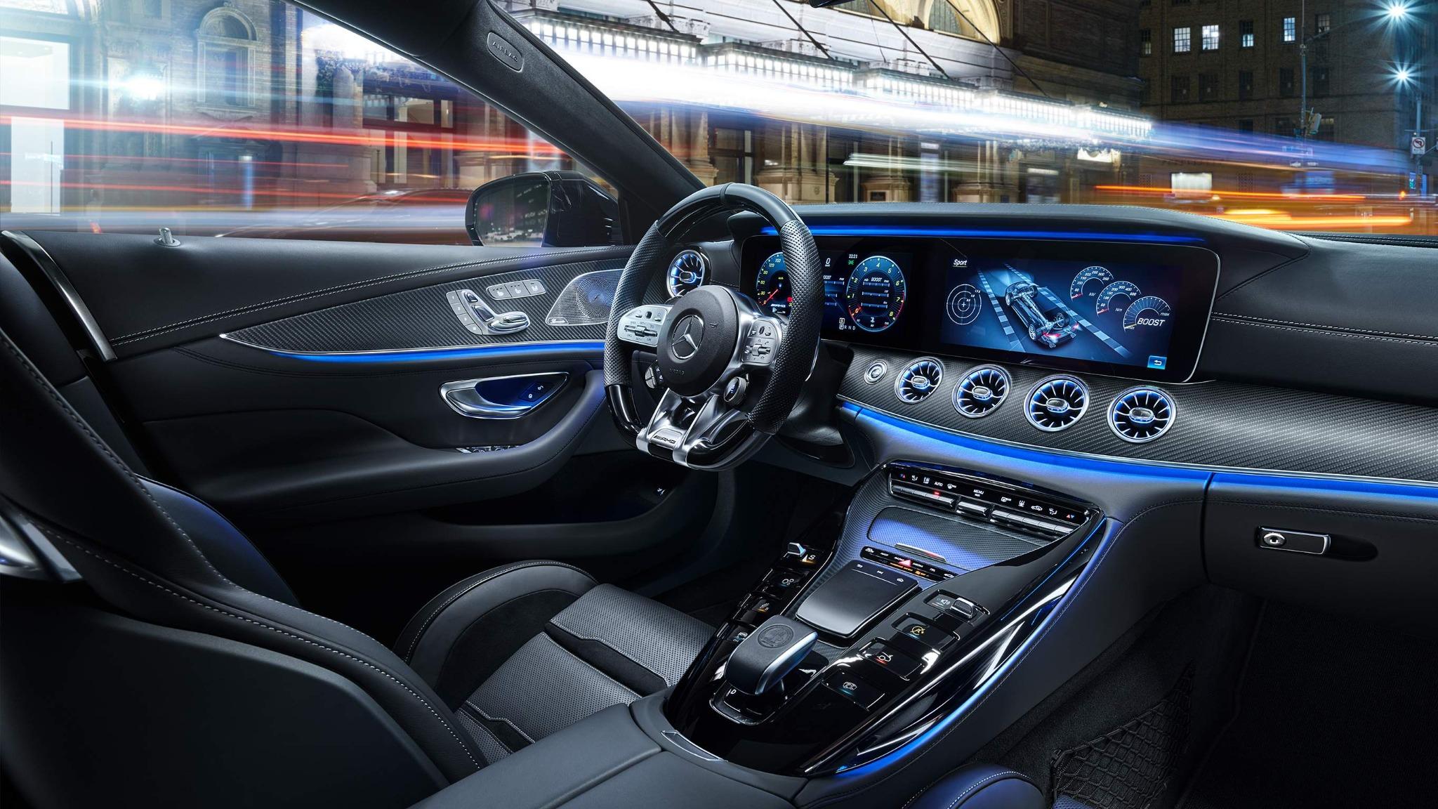 Mercedes-AMG GT 4-Door Coupés